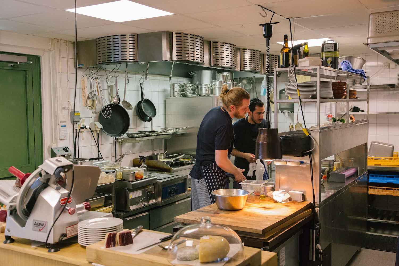 Kitchen at Centan, photo by Ekstra